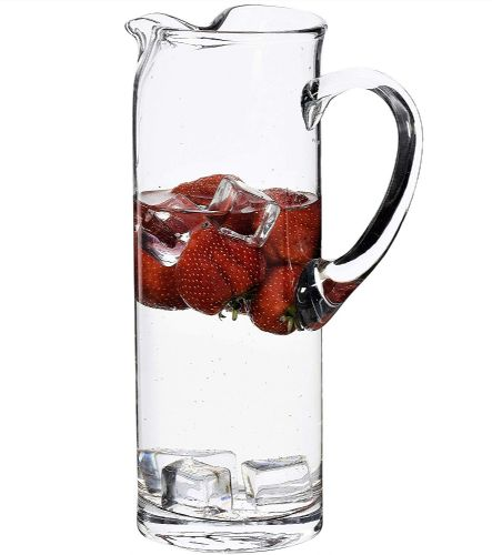Ice Lip Jug 29cm high - Engraved